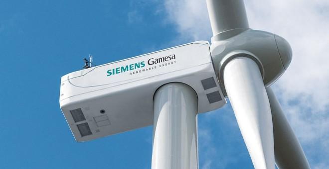 Siemes Gamesa aprovecha el potencial en renovables de Soria montando en Ágreda el aerogenerador más potente del mundo