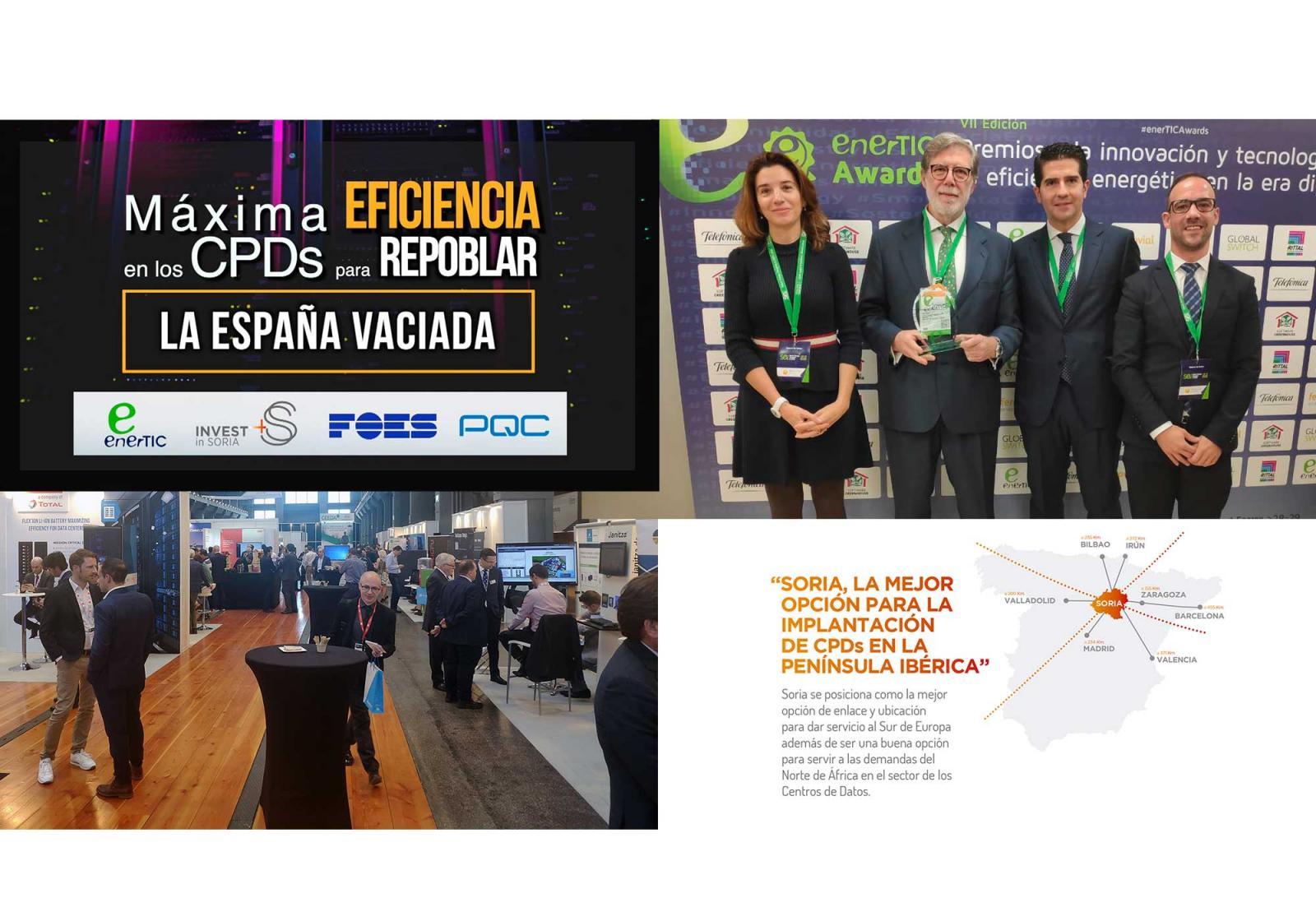 La propuesta de Invest in Soria al sector de los CPDs queda refrendada por el anuncio del Gobierno