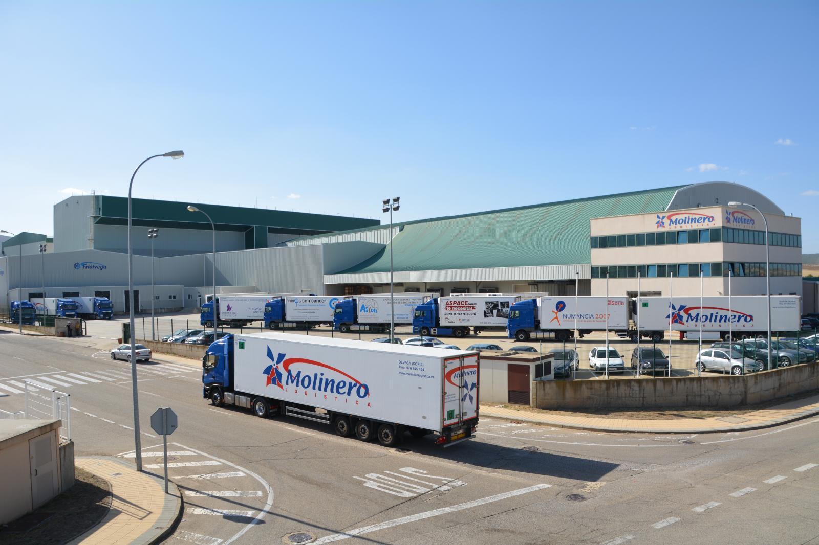 El mayor centro logístico en frío de España, Friolvega – Grupo Molinero Logística, recibe 1,12 millones de incentivos regionales