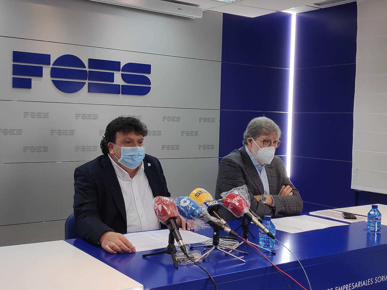 El grupo Pistelli captado por FOES se adjudica dos parcelas en Almazán donde invertirá 1,5 millones y creará 31 empleos