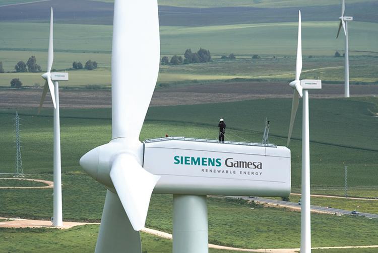 Siemens Gamesa (Ágreda) aumenta su producción.