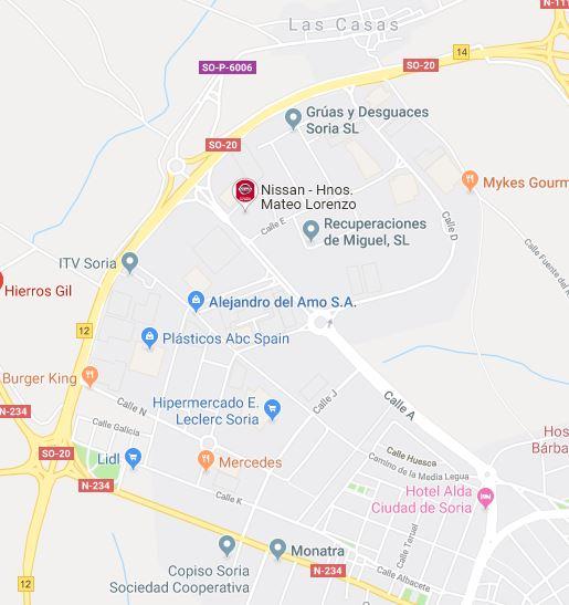 Soria - Polígono Industrial LasCasas